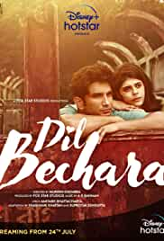 Dil Bechara (2020) (WebRip) - New BollyWood Movies